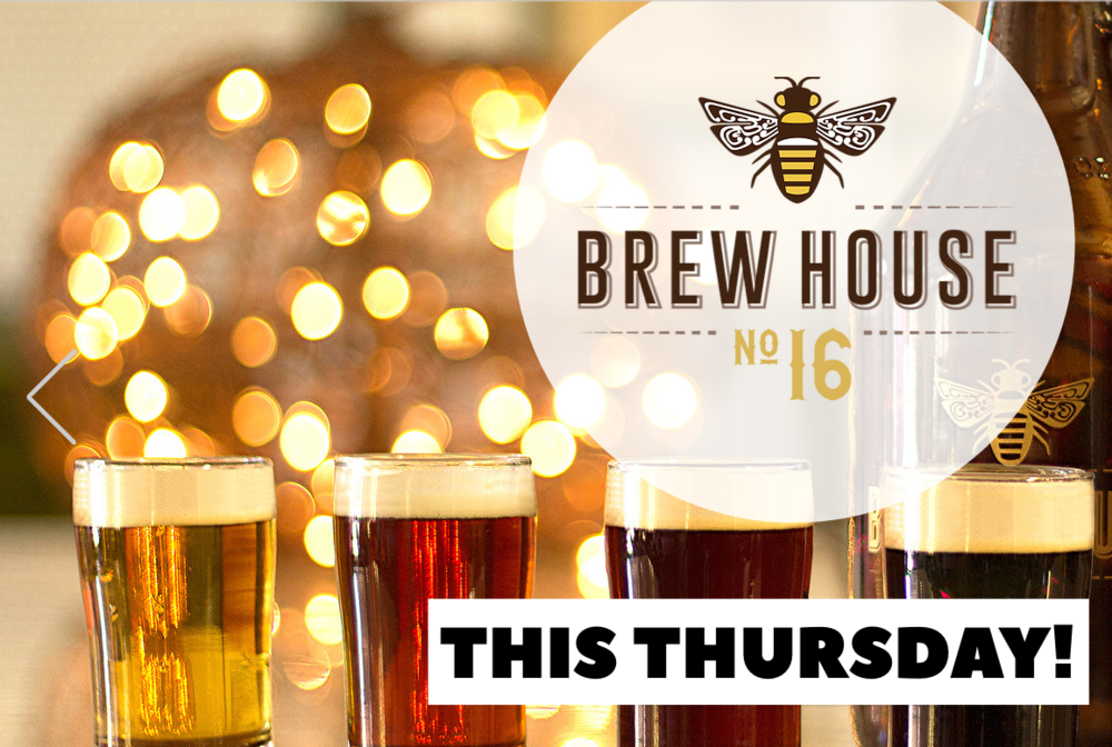 Thursday, Nov 2nd - Baltimore Brew Club teaming up with Brew House No.16 to raise pints and raise funds for Baltimore Bike Party (a 501c3 non-profit), which builds community by connecting people from across the city for a monthly group bike ride. 2 ways to support Bike Party:1. EAT- Brew House No. 16 will be donating 15% of certain menu items.2. DRINK- Sign up for the Baltimore Beer Passport and get a buy1get1 beer. Use code 'bikeparty' for $17, and 100% of that will be donated.  Click here to RSVP on Facebook. Hope to see you there!