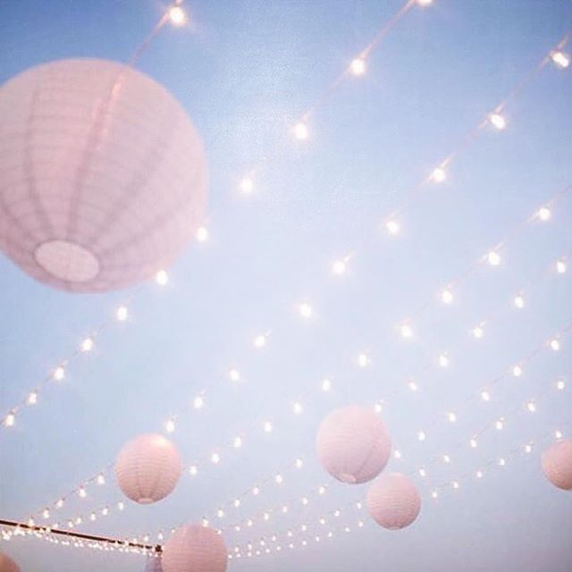 Love the simplicity of fairy lights and lanterns. Perfect look for a wedding under the stars #weddingplannersydney #weddingstyling #sydneywedding #sydneybride