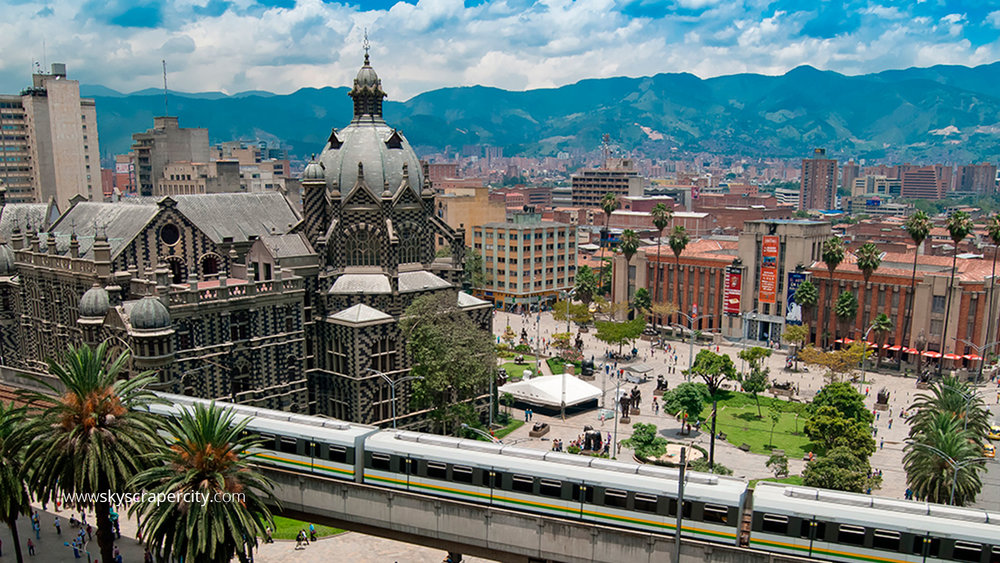MEDELLIN, COLOMBIA - AUG - OCT 2019