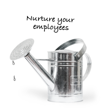 Watering can - Nurture your team