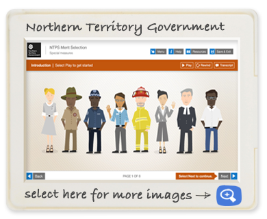 Northern Territory Governmaent screen shot