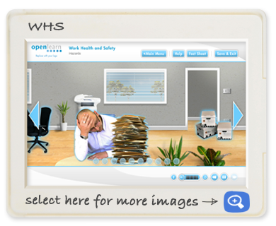 Openlearn off-the-shelf WHS Screen shot