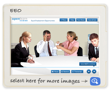 Openlearn off-the-shelf EEO Screen shot