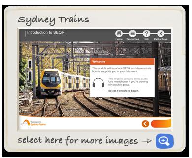 Sydney Trains - SEQR