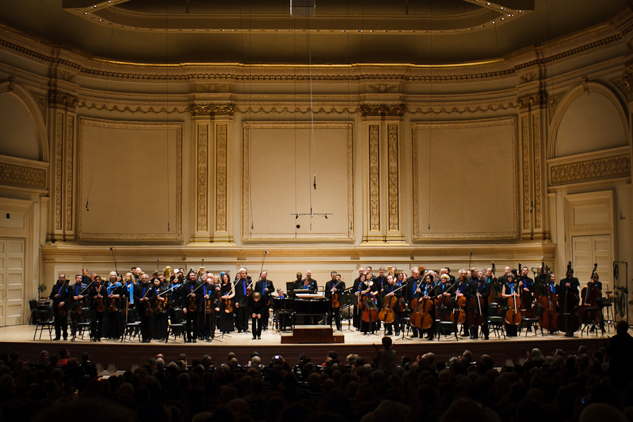 SEATTLE SYMPHONY at CARNEGIE HALL