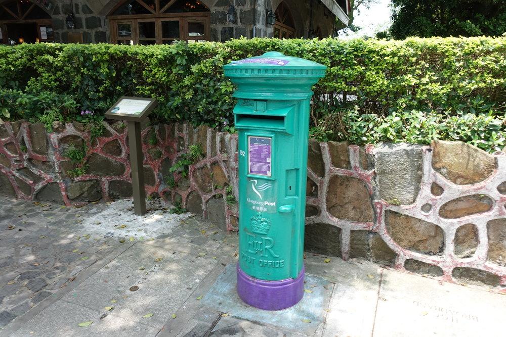 Letter Box On The Peak