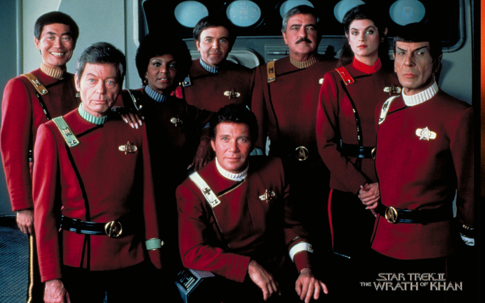 The greatest Star Trek uniforms.