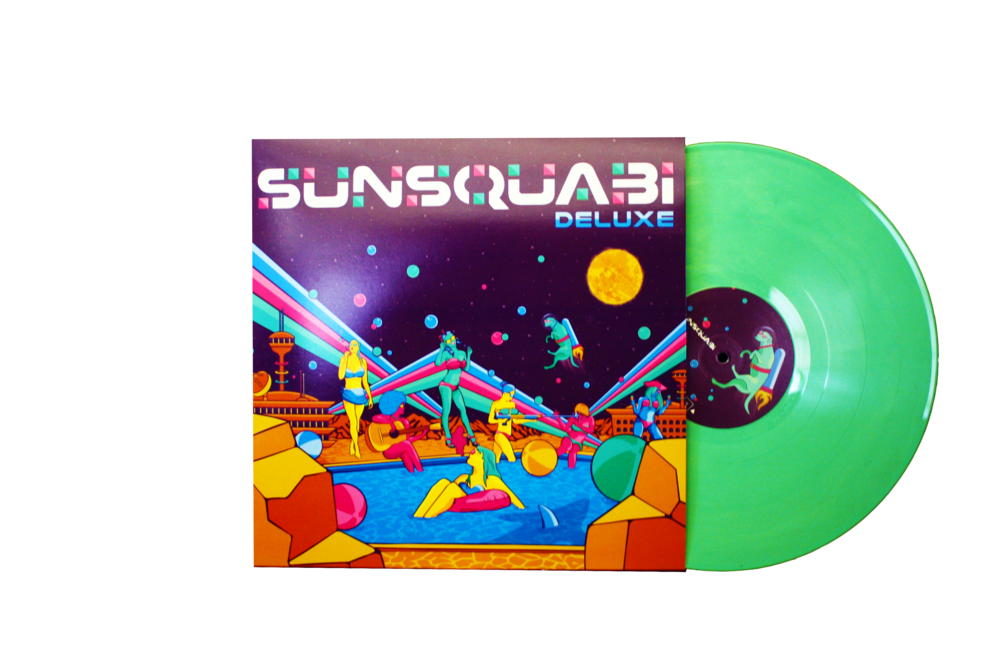 DELUXE on Vinyl! On Sale Now! - ORDER HERE