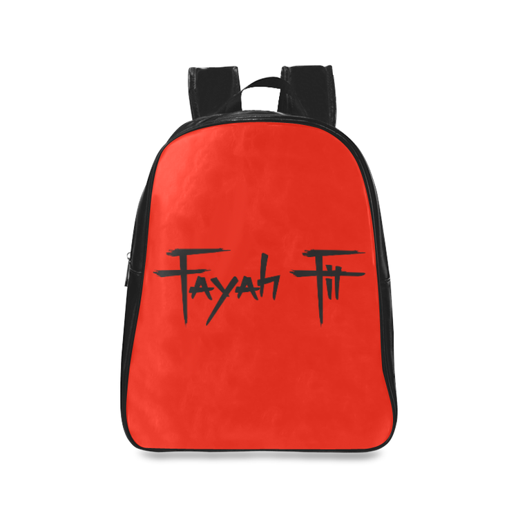 Fayah Fit Backpack (Red and Black) — Fayah Fit aec353f1b6672