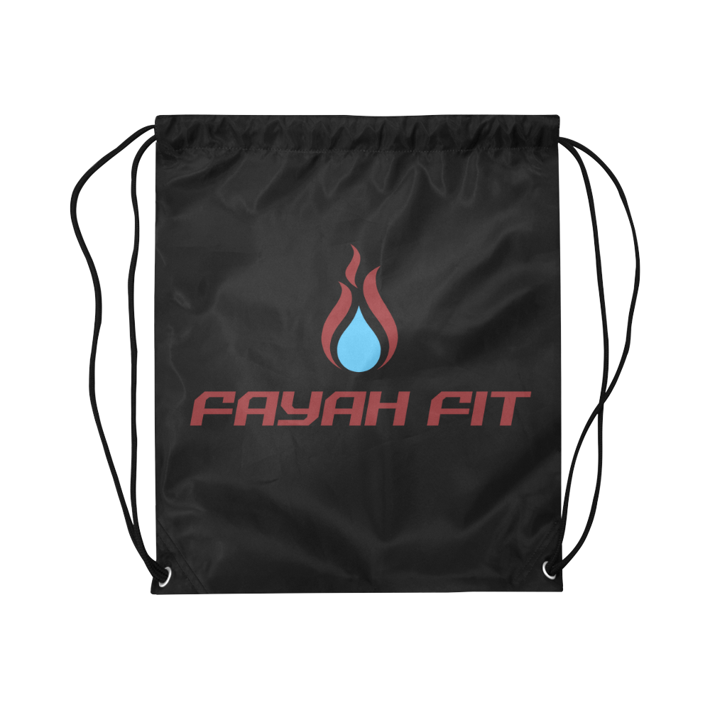Fayah Fit Logo Drawstring Bag (Black) e41434c07f908
