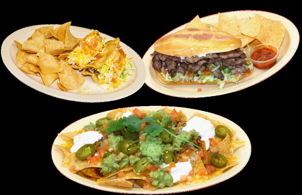 Tacos, Tortas & Appetizers