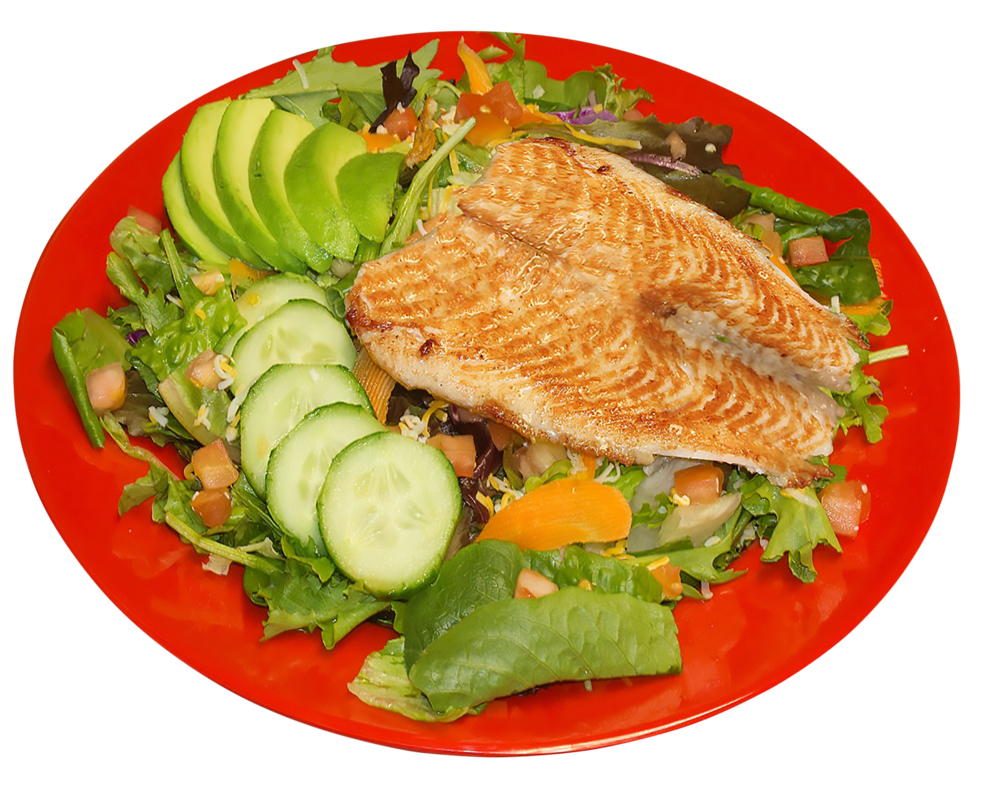 Fish Dinner Salad