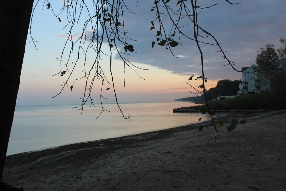 Morning worship on the beach & sunrise!