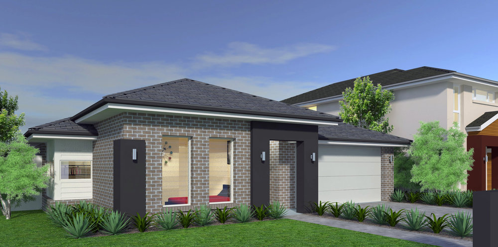 3D Model and Vray Render for Client Elderton Homes