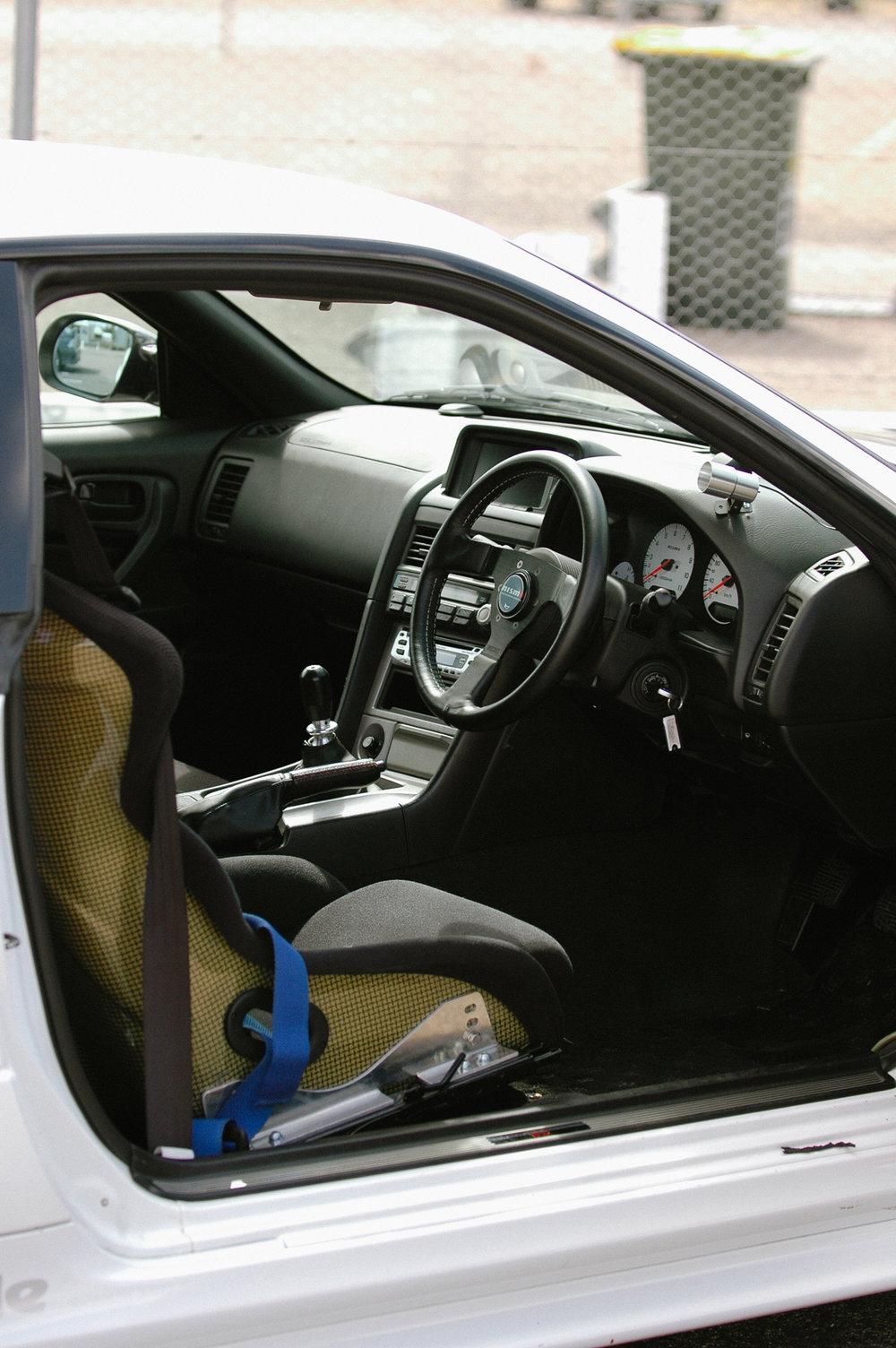 Carbon Kevlar seat
