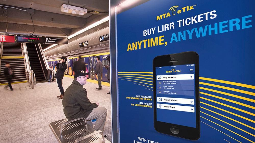 MTA eTix Campaign