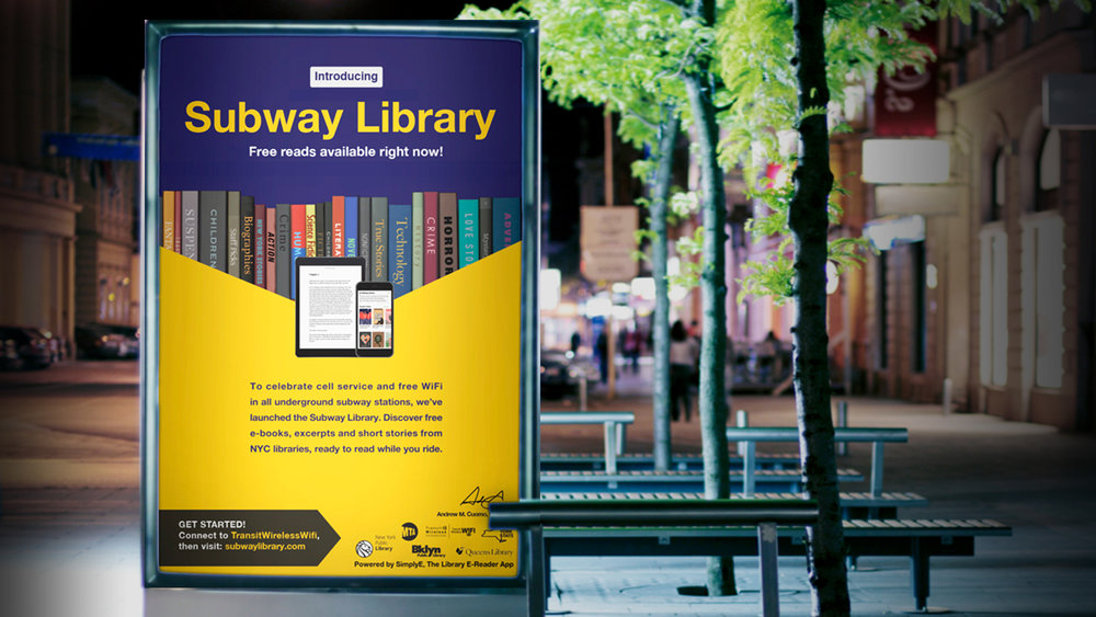 Subway Library Campaign