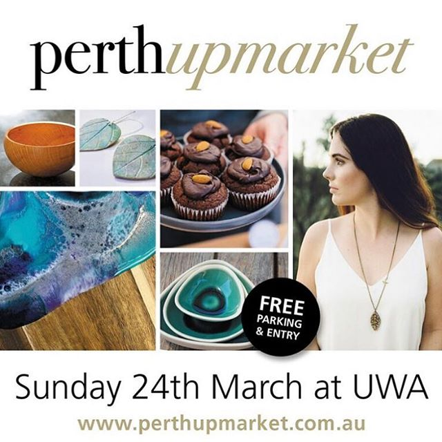 Not long before our first pop up of the year @perthupmarket. We'll be downstairs in Winthrop hall. If you've been wanting to see the size and quality of our bags, diarise now!  See you there 10-4pm at @universitywa #perthmarkets