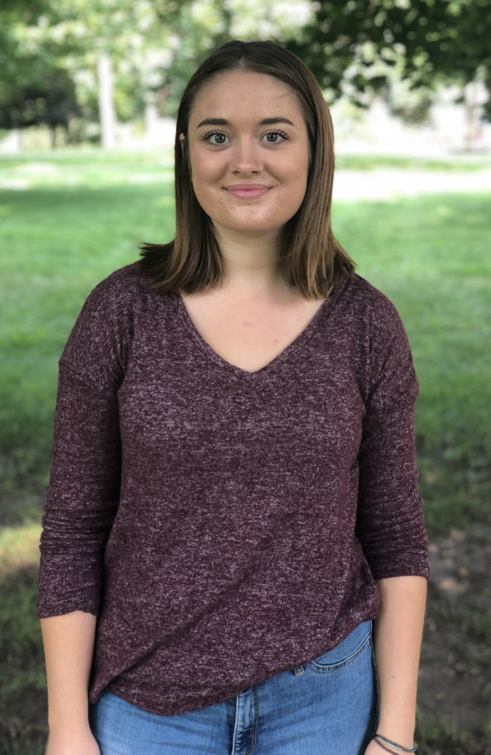Emma O'Brien   Research Assistant   Psychology and Medical Humanities Major (junior standing)