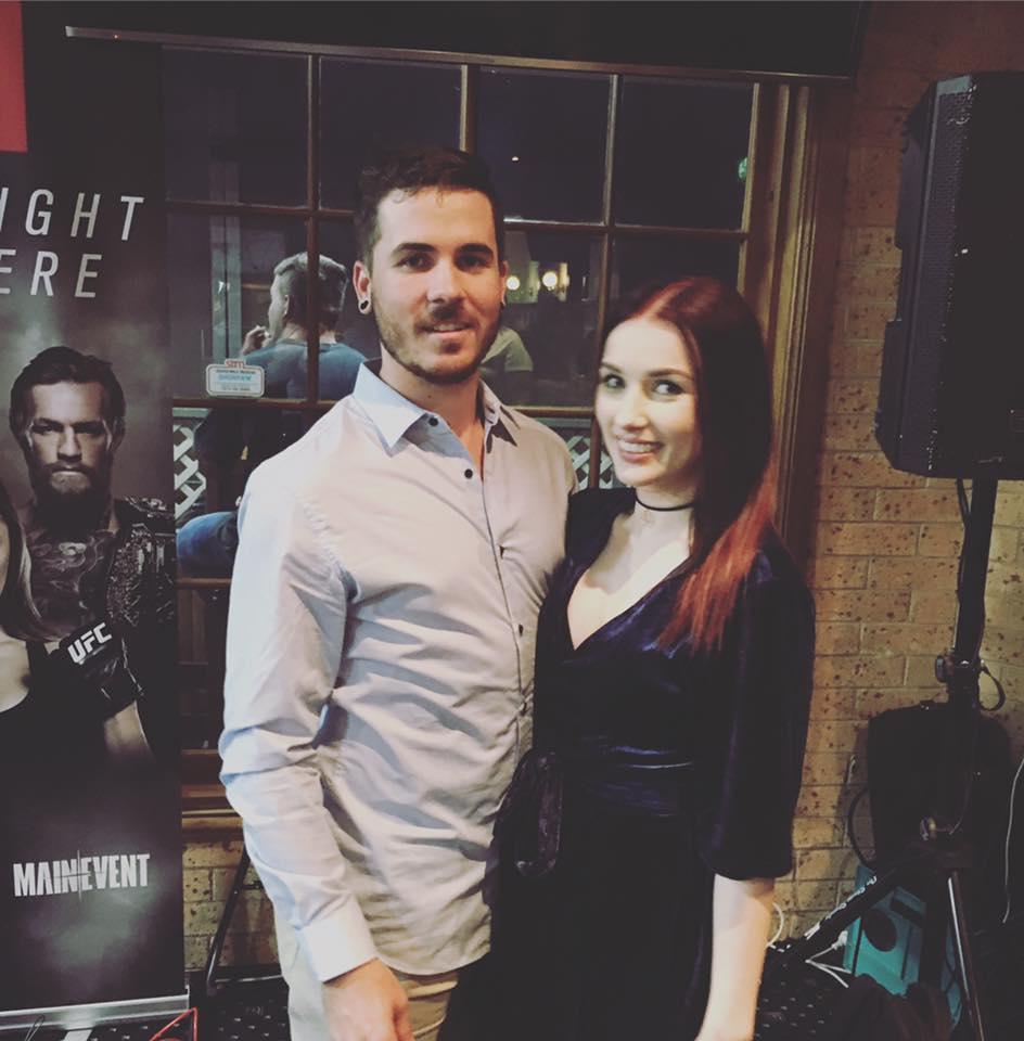 Tyler-Jane Lumsden and Kyle Cartner