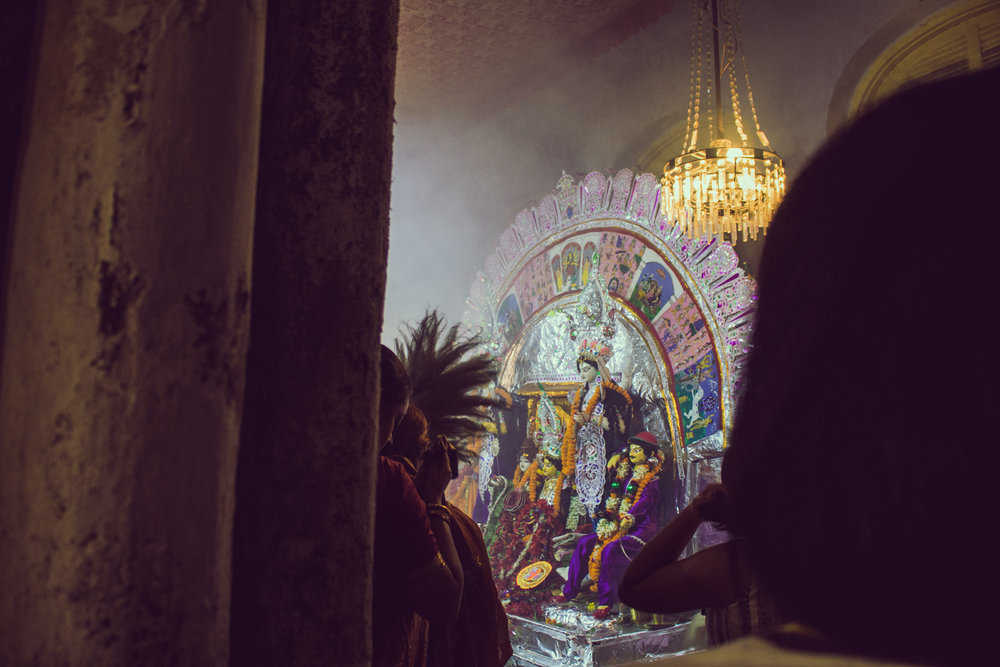 Durga Puja celebrations commemorated by the Mullick family in Central Kolkata.