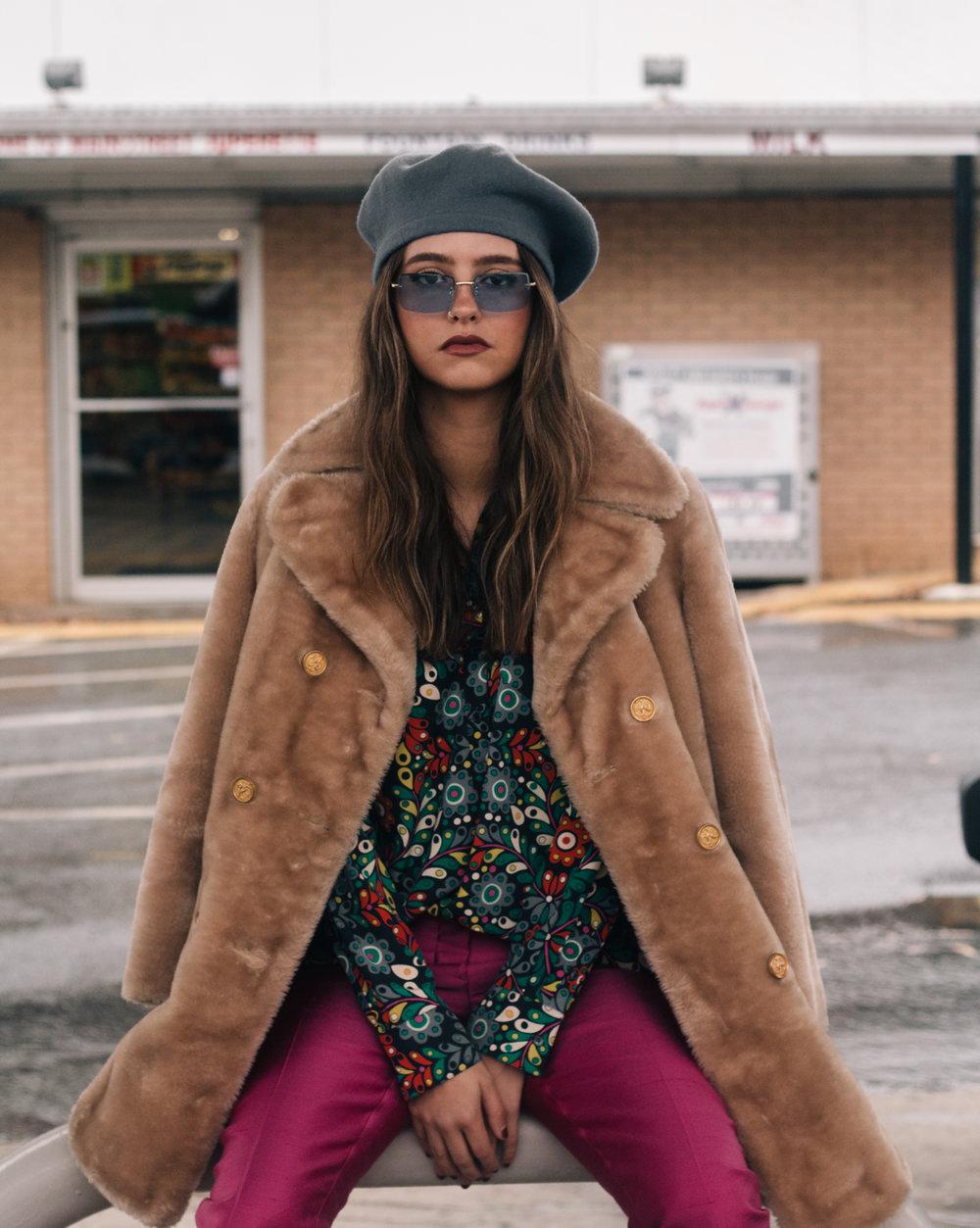 Shot by @PalmTreeJD | Eye Spy Vintage (@EyeSpy_Vintage) 2016 Winter Collection | Aspen, CO