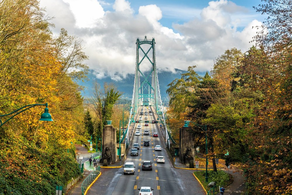 Stanley Park + Lions Gate Bridge