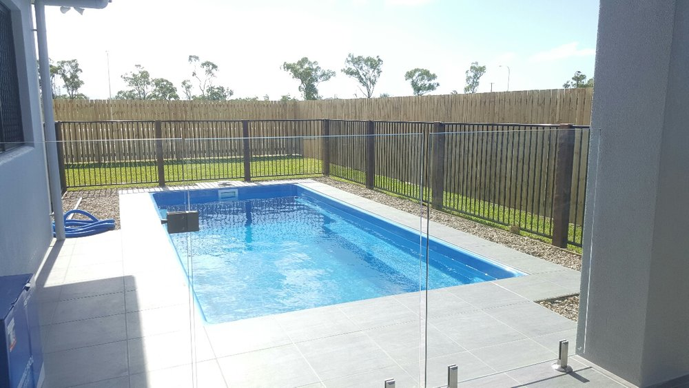 The Billabong Fibreglass Pool