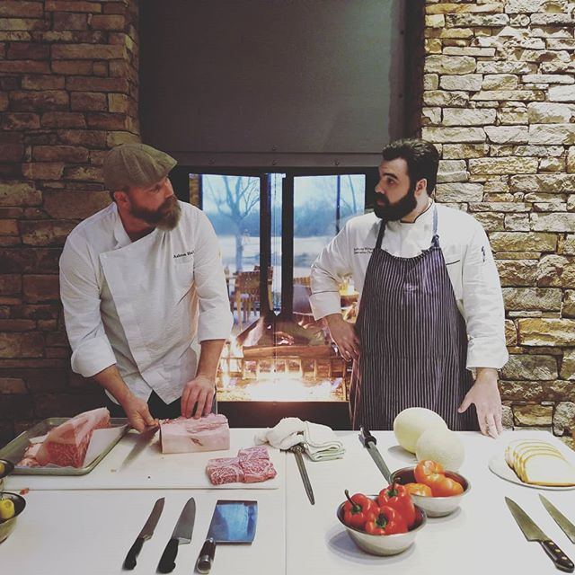 A5 Kobe beef is on the menu this weekend. You serious Clark? Yep... Reserve your fireside dinner today.