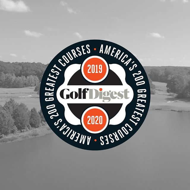 We are thrilled to be ranked amongst America's 200 Greatest Courses! Thank you @golfdigest ⛳#golfdigesttop200