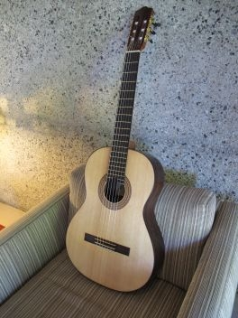 Tybon Wu Guitar, Front