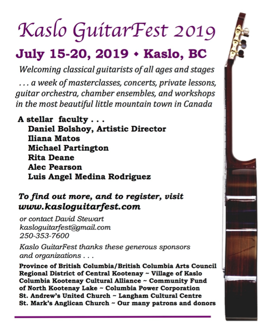 All Events — Vancouver Classic Guitar Society