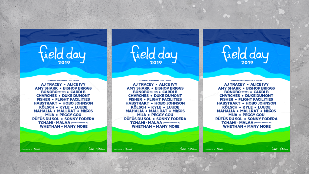 FIELD DAY - see more