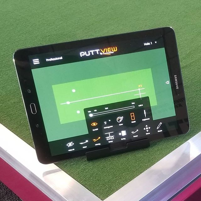 We are very proud of the relationships we've built and adding @puttview is nothing different. Great product, great team, great ideas on the burner to showcase both of our products better.  #perfectionplatforms