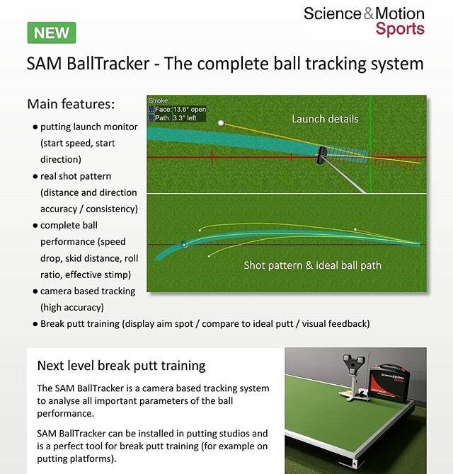 Available soon on all #perfectionplatforms! @scienceandmotionsports #samballtracker #samputtlab