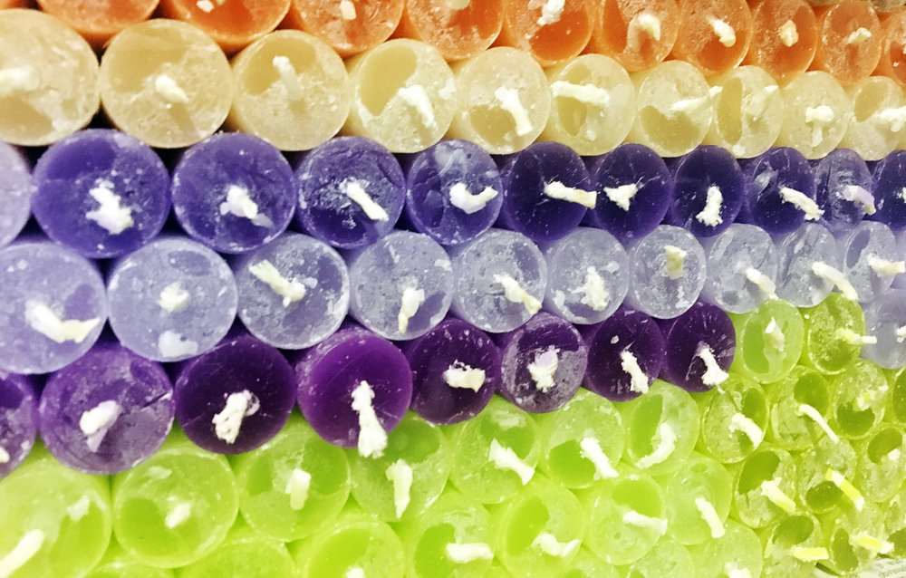 kapula-handmade-plain-frosted-candles-green-purple-yellow.jpg