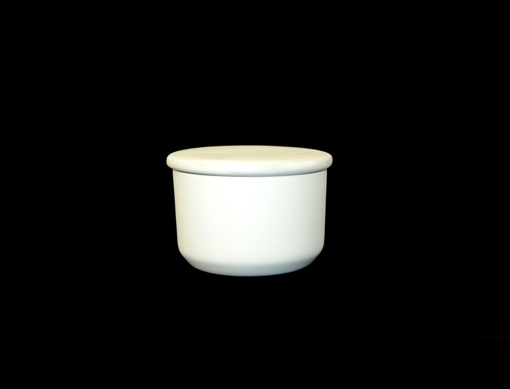 BUTTER DISH ROUND & LID