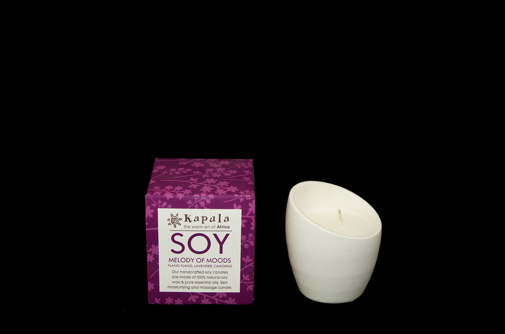 SOY CANDLE CERAMIC SMALL