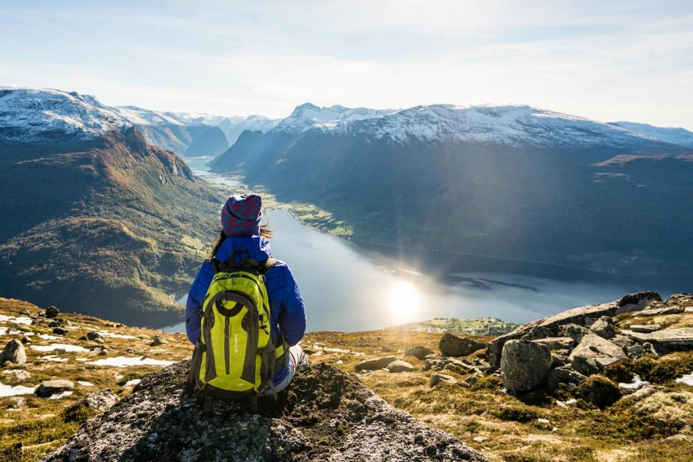 Guided hike: Hoven Panorama - A guided tour to Mt. Skredfjellet, with views of the fjord landscape.