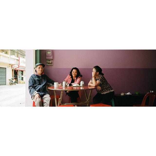 At the old school purple coffee shop. . . . #hasselblad #hasselbladxpan #xpan #xpanogram #kodak #portra #kodakportra800 #portra800  #filmnotdead #keepfilmalive #filmphoto #filmphotography #analog #shootfilm #filmfeed #stayandwander #tinkerstreet #imaginarymagnitude #somewhere_travel #paperjournalmag #justgoshoot #oftheafternoon #freshairclub #earthoutdoors #portboxtravel #freshairclub #myspc #streetphoto #vietnam #dalat