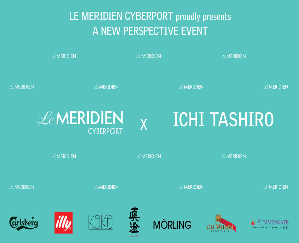 A new perspective event  - Mörling sponsored and managed for Le Meridien Cyberport  and Ichi Tashiro for the opening of  Arrival Art. Read more about the artist here.