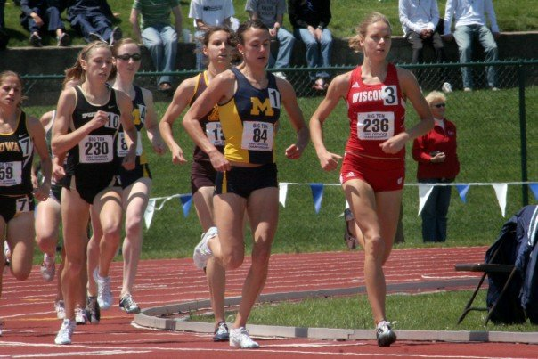1500 Meter final at the Big 10 Championships in 2007.