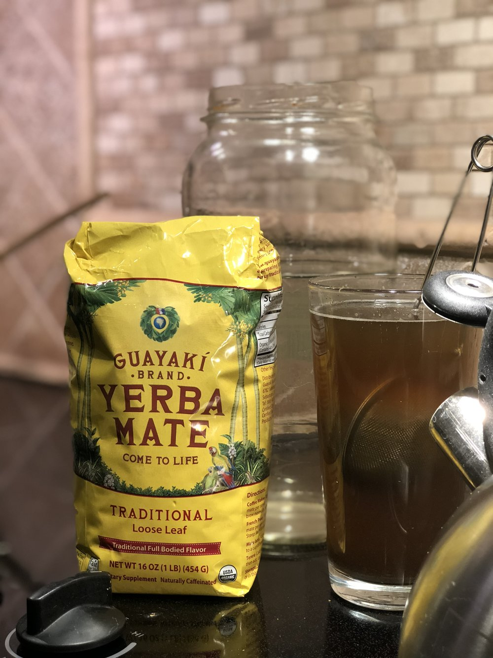 Guakayki Yerba Mate loose leaf is a great start to any morning. Less astringent then coffee and goes great with a local Raw Honey.