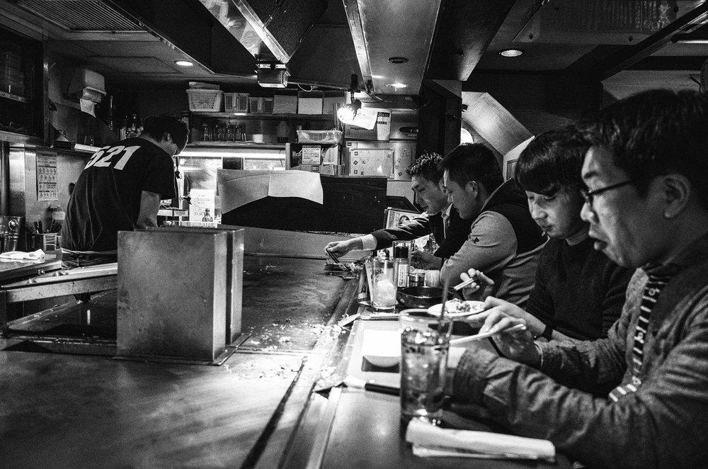 Gotsu Okonomiyaki, Ikebukuro, Tokyo