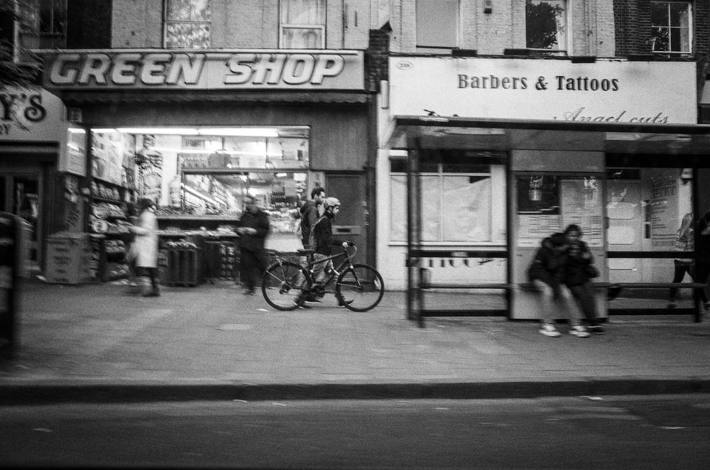 Green Shop Biker
