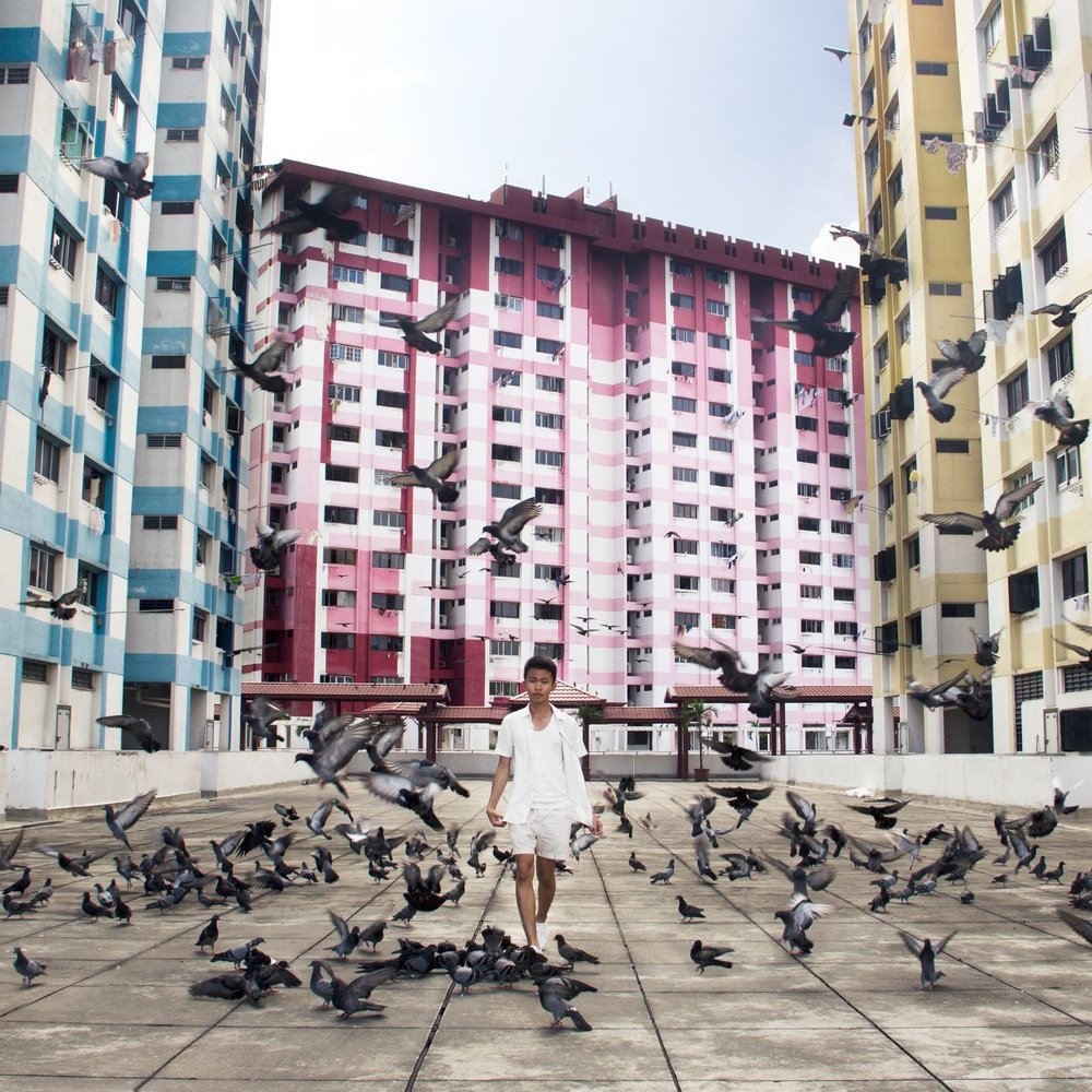Sean recently published 'Yesteryears', a series of 50 in situ self portraits in abandoned and forgotten places around Singapore.