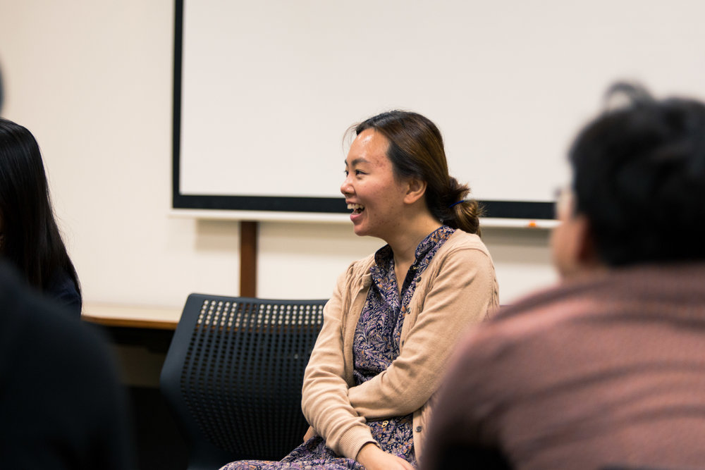 Playwriting & Theatre Workshop with Faith Ng - 21 October 2017Sharing about her personal journey as a playwright and her hit play Normal , Faith Ng advocated for being a human first and artist second, and told us why we should be writing about Singapore.