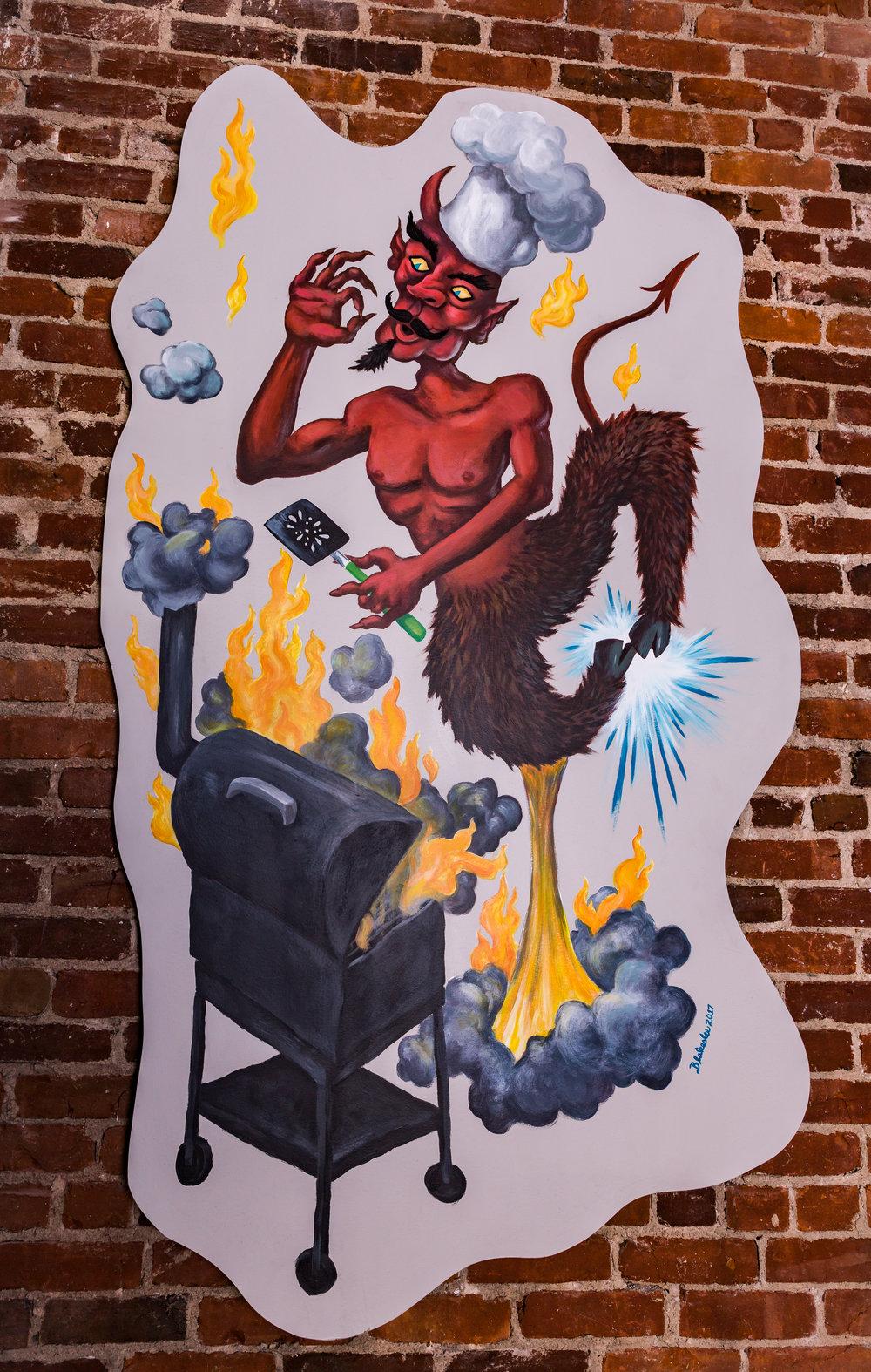 Devil w/ Smoker  Dan Blakeslee $400