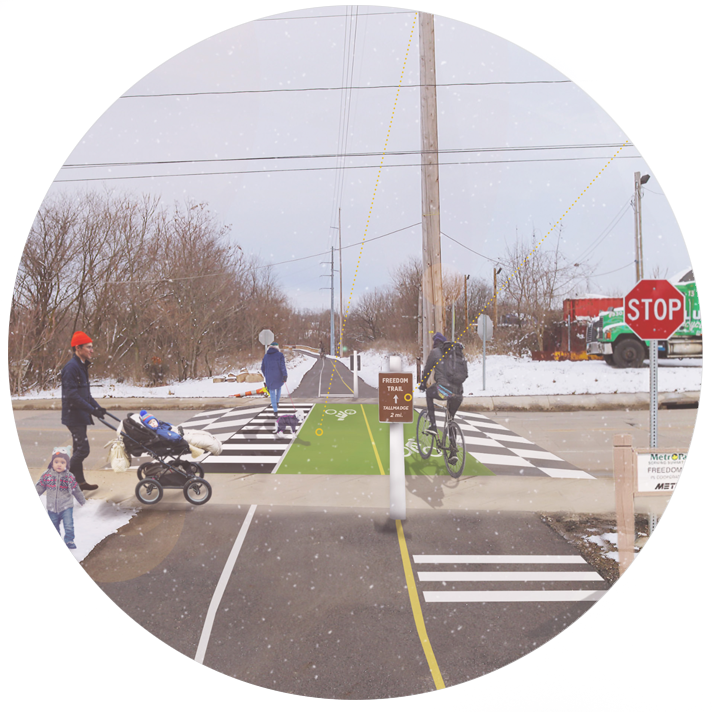 Akron Bicycle Network Strategy