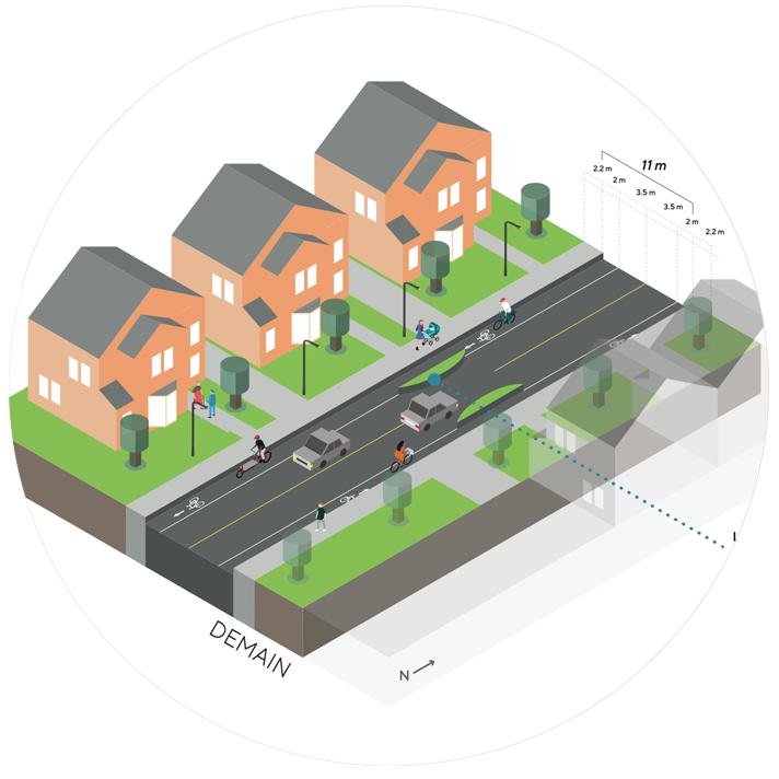 Candiac, Québec Bicycle Network Analysis